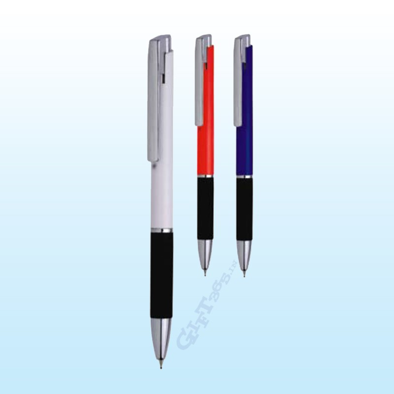 Colour body Chrome clip Pen