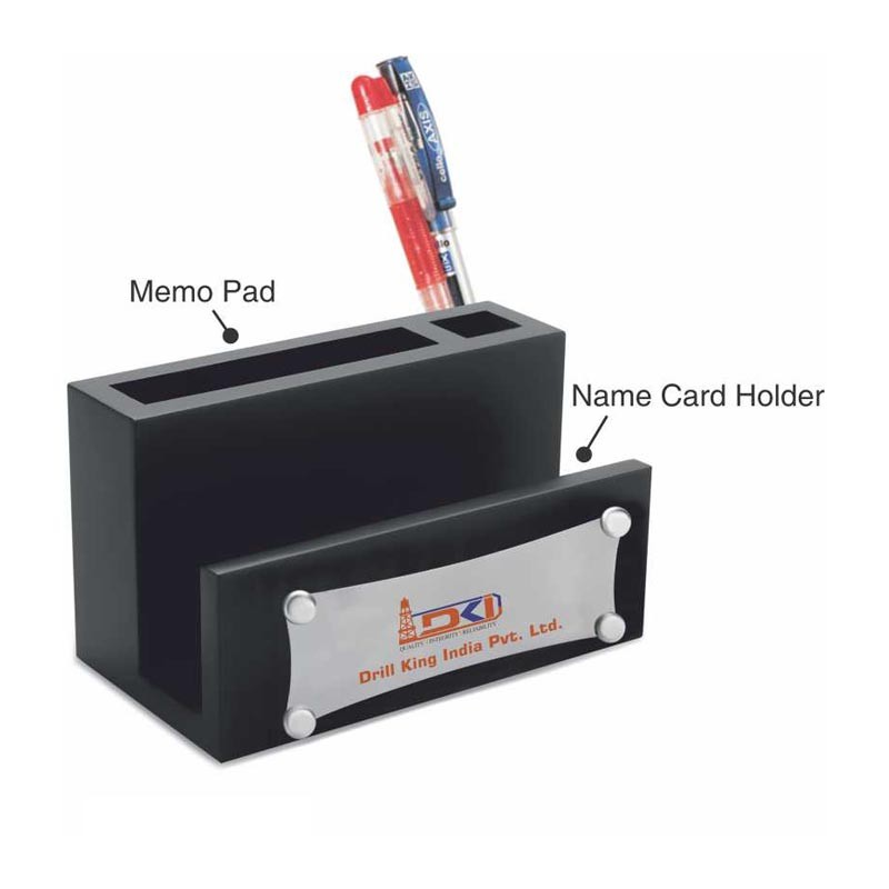Desktop Memo pad with Name Card Holder