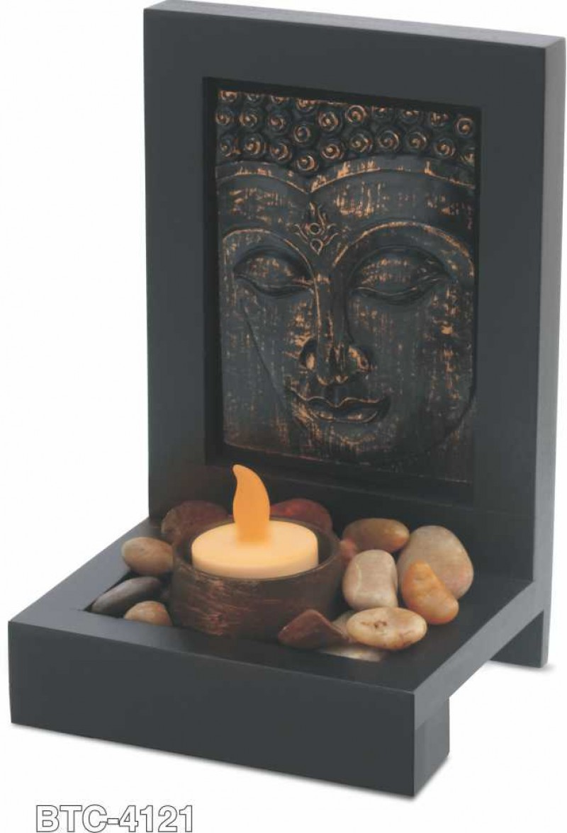 Desktop Buddha Frame with diya