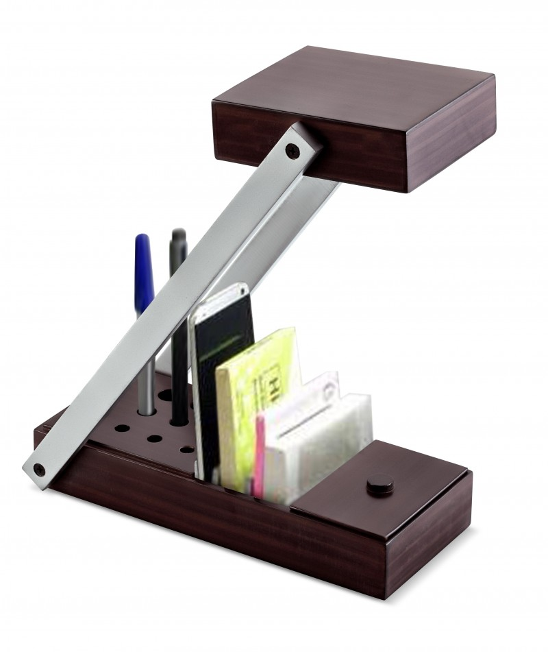Desktop Foldeble LED Desk Organiser
