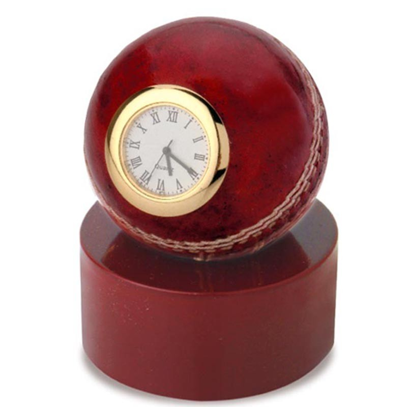 Cricket Ball Shape Clock