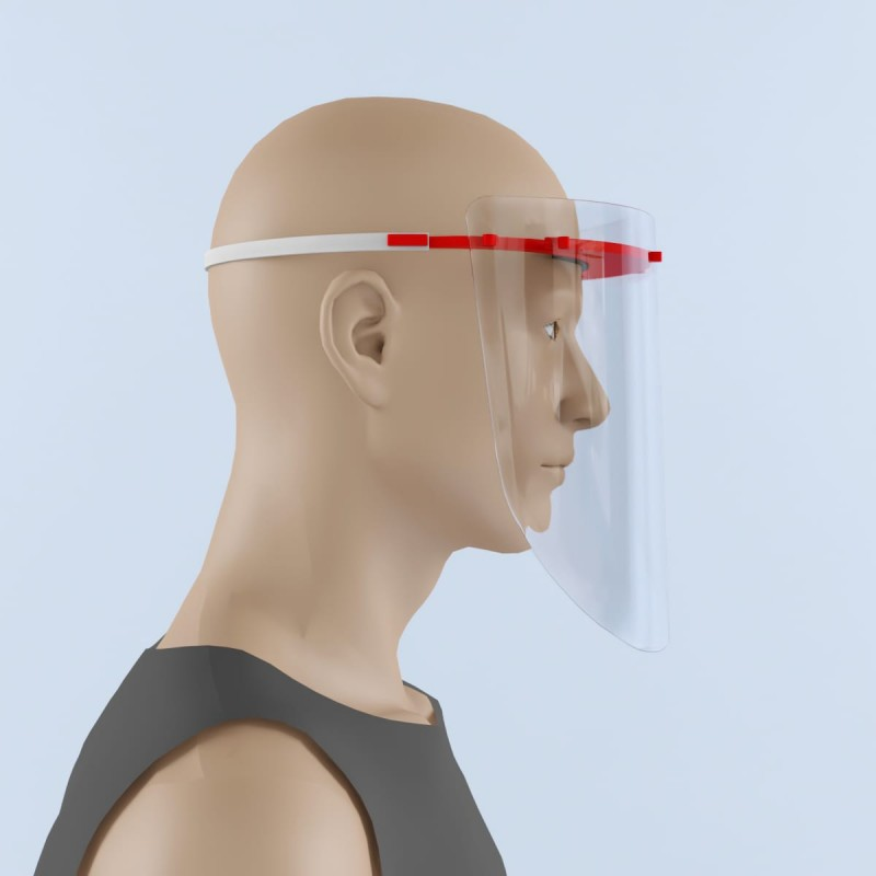 Protective Face Isolation Shield