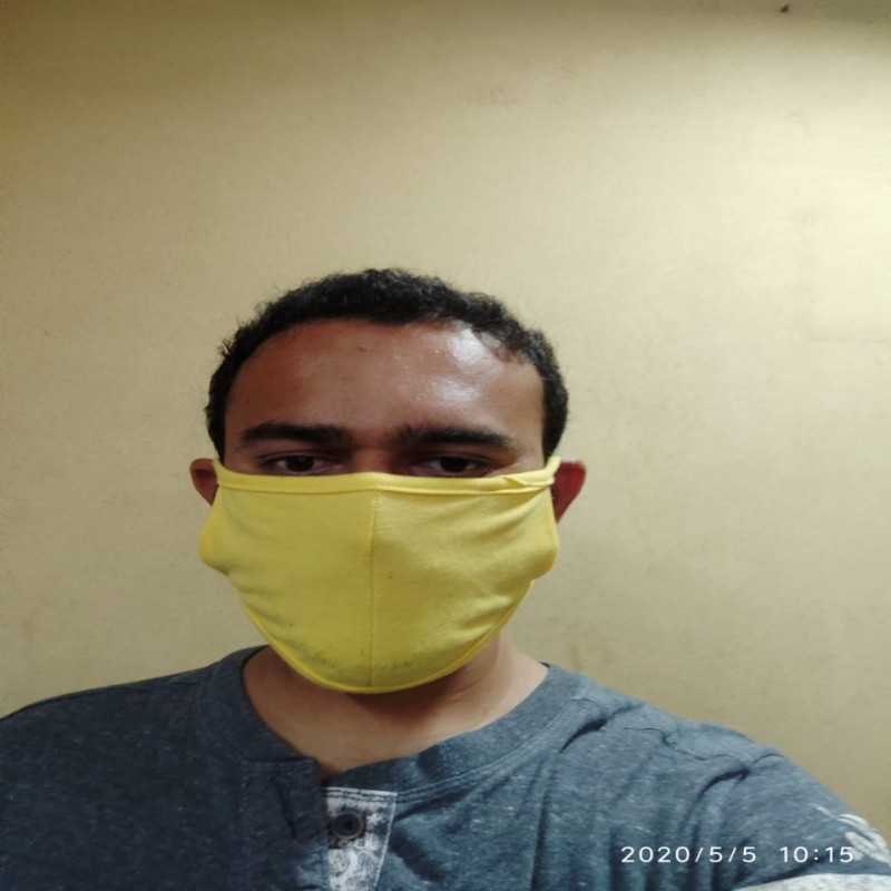 Cotton Re Usable Mask (2 Layer)